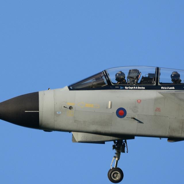 """RAF Panavia Tornado GR4 ZG771 at BFS"" stock image"