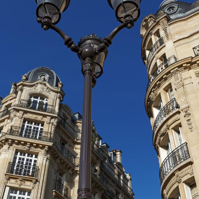 """Parisian street"" stock image"