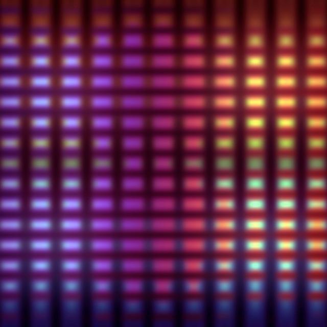 """Blurred lights grid background"" stock image"