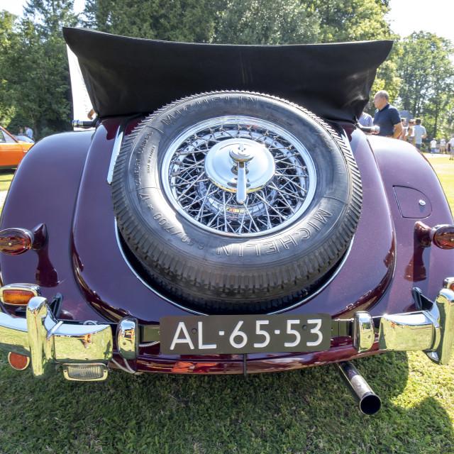 """Mercedes - Benz 320 Drophead"" stock image"