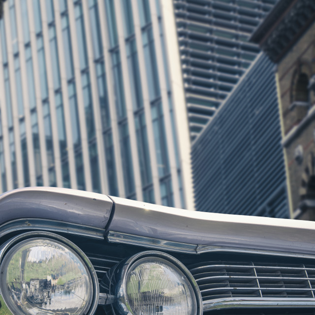"""""""Car in the City"""" stock image"""