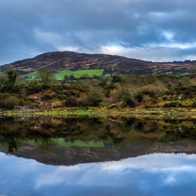"""Camlough village Co Armagh"" stock image"