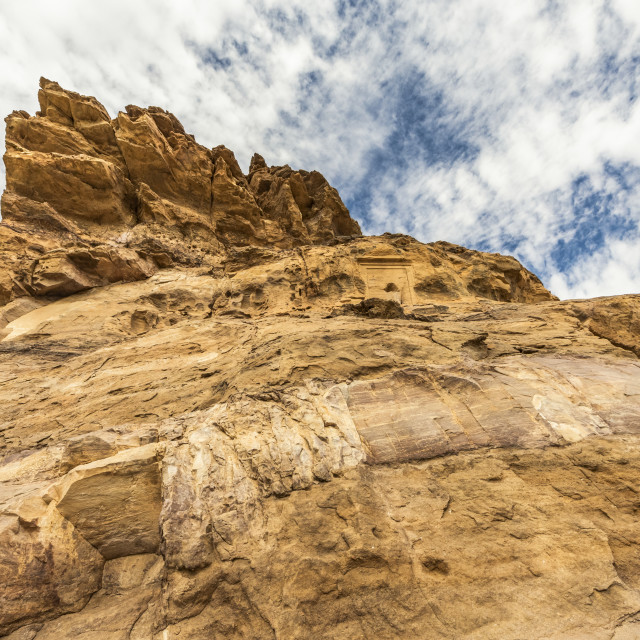 """""""Decoration by the Rock-chapel of Thutmose III, Jebel Dosha; Northern State,..."""" stock image"""