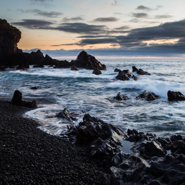 """Djupalonssandur Beach Iceland"" stock image"