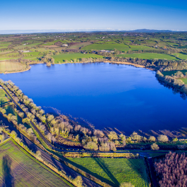 """Acton lake Co Armagh"" stock image"