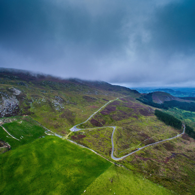 """Slieve Gullion Mountain south Armagh"" stock image"