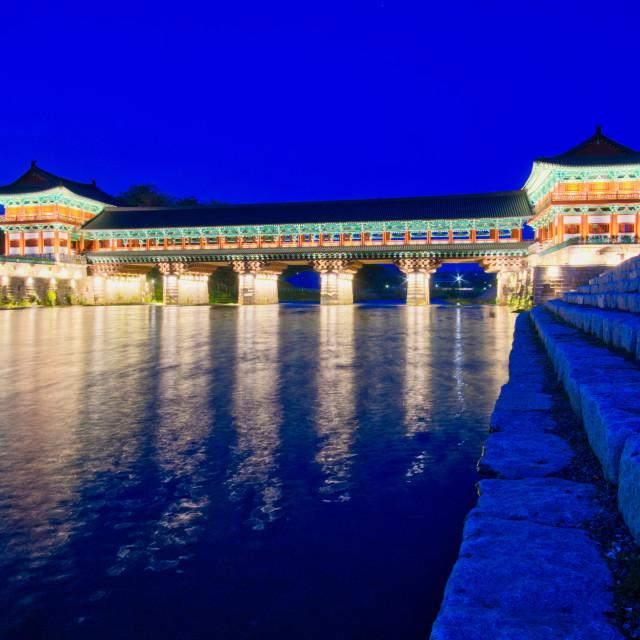 """Woljeonggyo Bridge"" stock image"