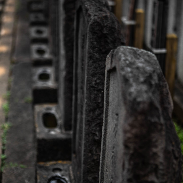 """47 Ronin Samurai Graves in Japan"" stock image"