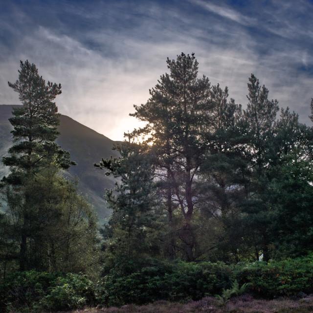 """Ben Nevis Sunrise"" stock image"