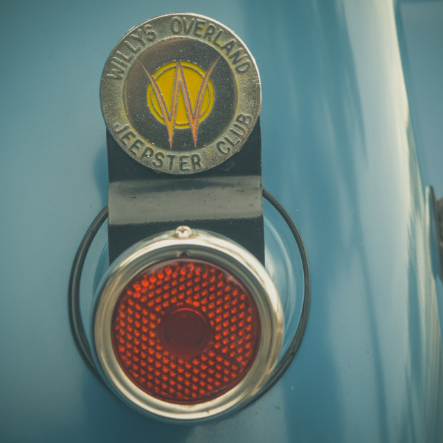 """""""Willy's Jeep Taillight"""" stock image"""