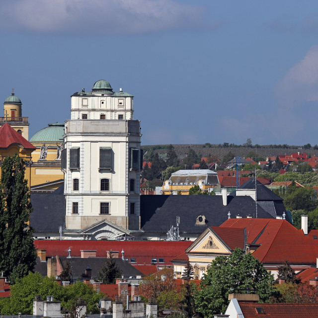 """""""Observatory in Eger cityscape Hungary"""" stock image"""