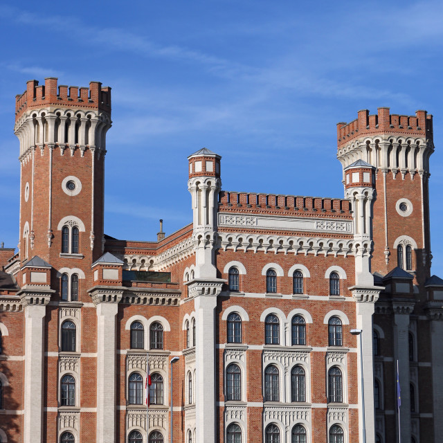 """Rossauer Barracks in Vienna landmark"" stock image"