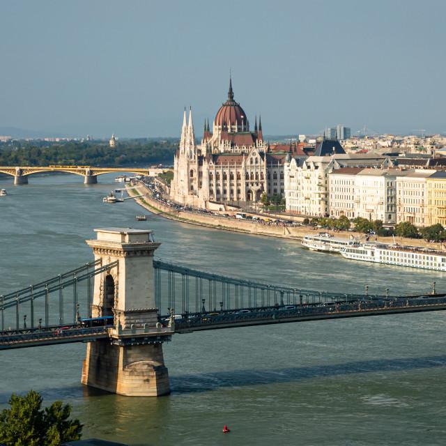"""Beautiful Budapest"" stock image"