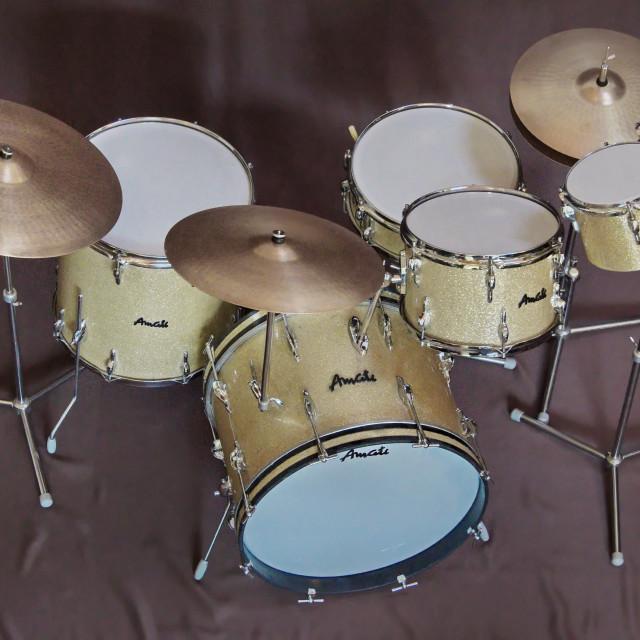 """Amati drumset"" stock image"
