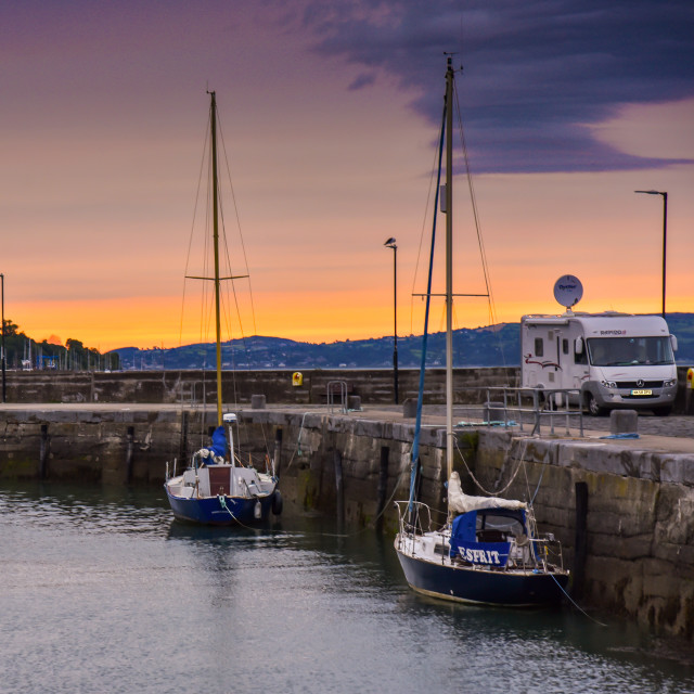 """Carlingford town Co Louth Ireland"" stock image"