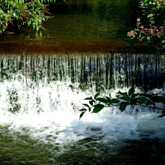 """Stroud Waterfall"" stock image"
