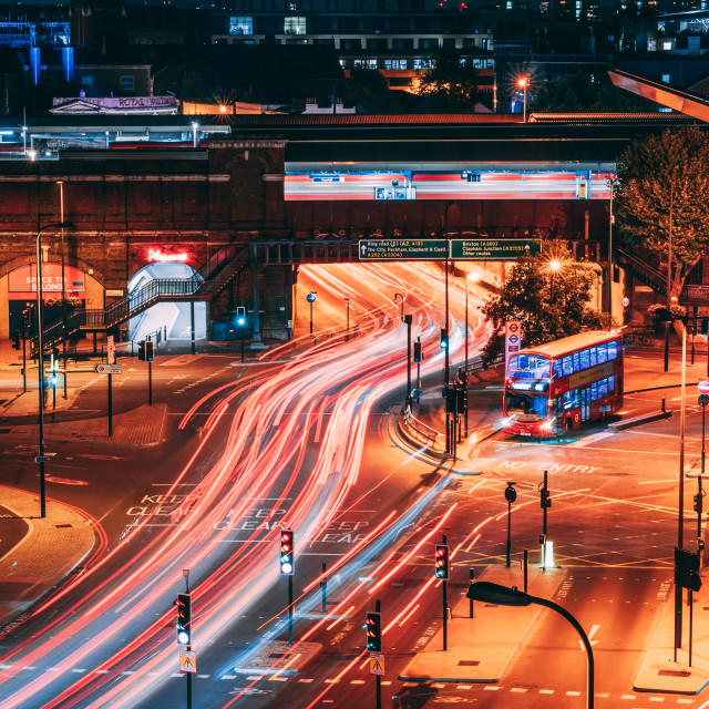 """Rush Hour in London"" stock image"