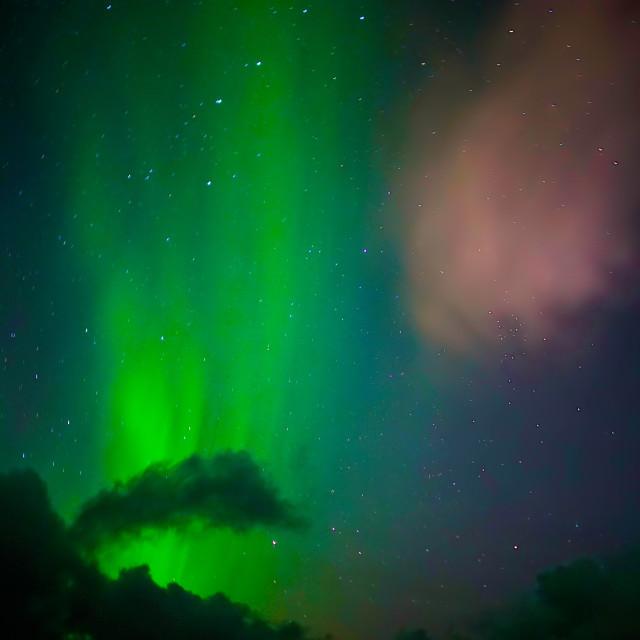 """Aurora Borealis - Northern Lights"" stock image"