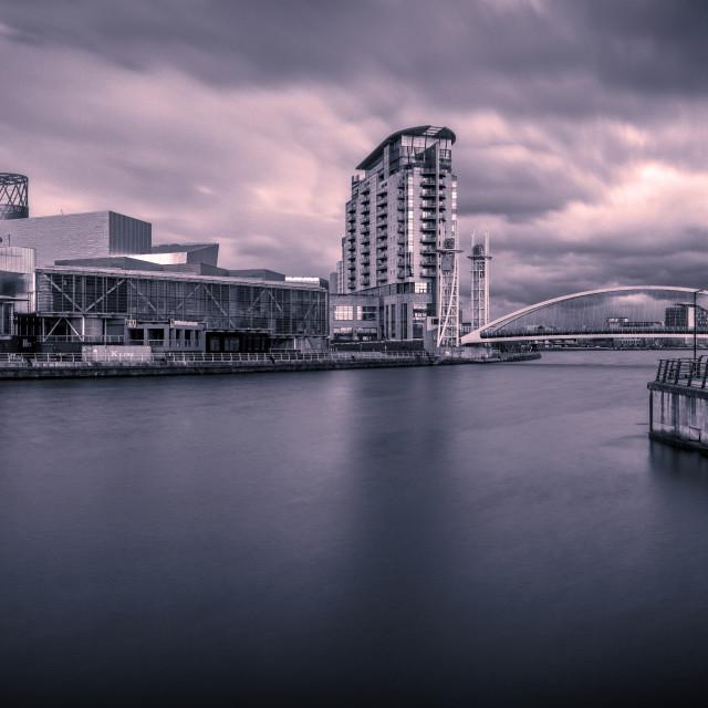 """Media City, Manchester, England"" stock image"