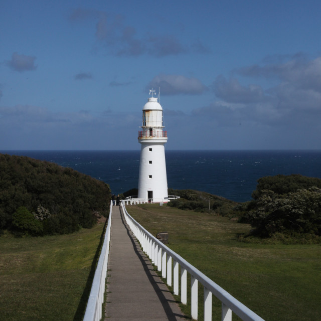 """""""Cape Otway Lighthouse Cape Otway National State park , Victoria ,"""" stock image"""
