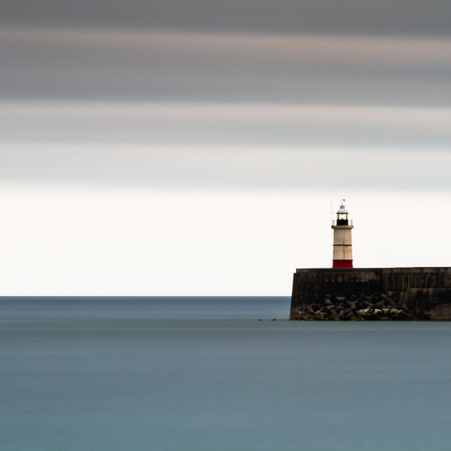 """""""Newhaven Lighthouse"""" stock image"""