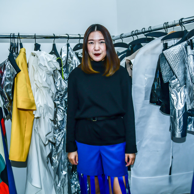 """""""A-Jane showcases at Fashion Scout SS20"""" stock image"""