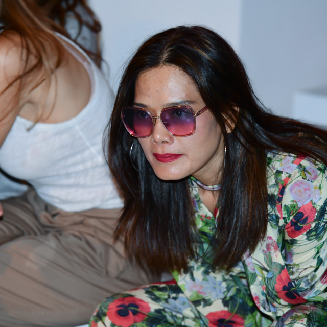"""""""Backstage at Fashion Scout - SS19 Day 3"""" stock image"""