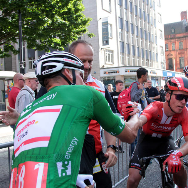 """""""Tour of Britain 2019 Stage 8"""" stock image"""