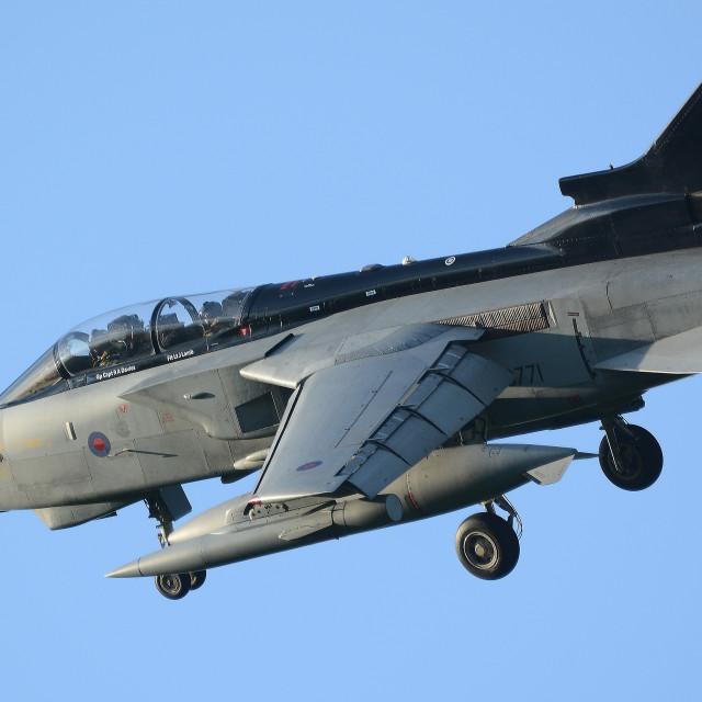"""RAF Panavia Tornado GR4 ZG771 iii"" stock image"