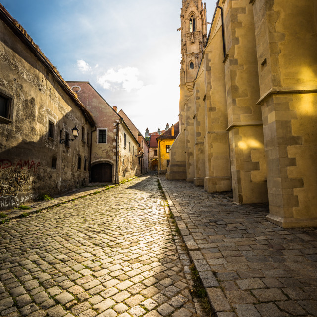 """Old Town"" stock image"