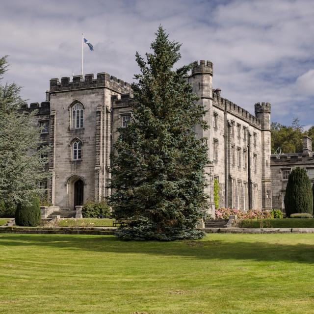 """""""Tulliallan Castle"""" stock image"""