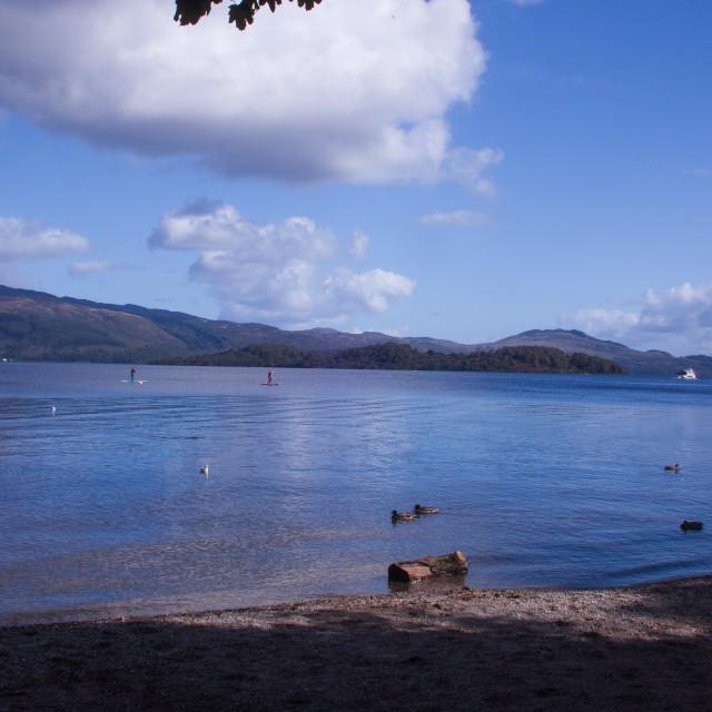 """Loch Lomand 2"" stock image"