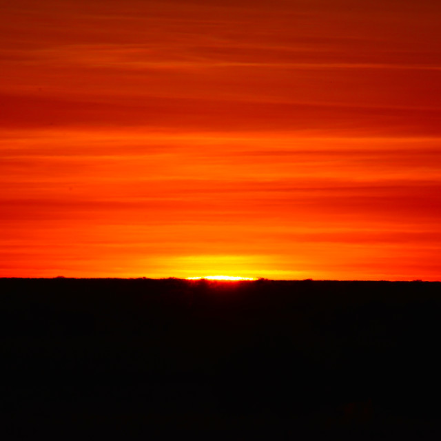 """Red Earth Awakens"" stock image"