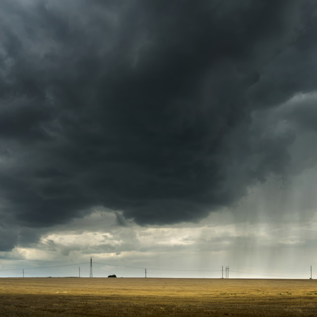 """midday storm"" stock image"