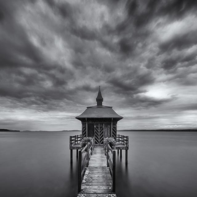 """""""Pavillon des Bains"""" stock image"""