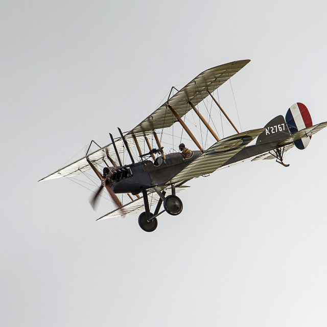 """RAF BE2 Replica"" stock image"