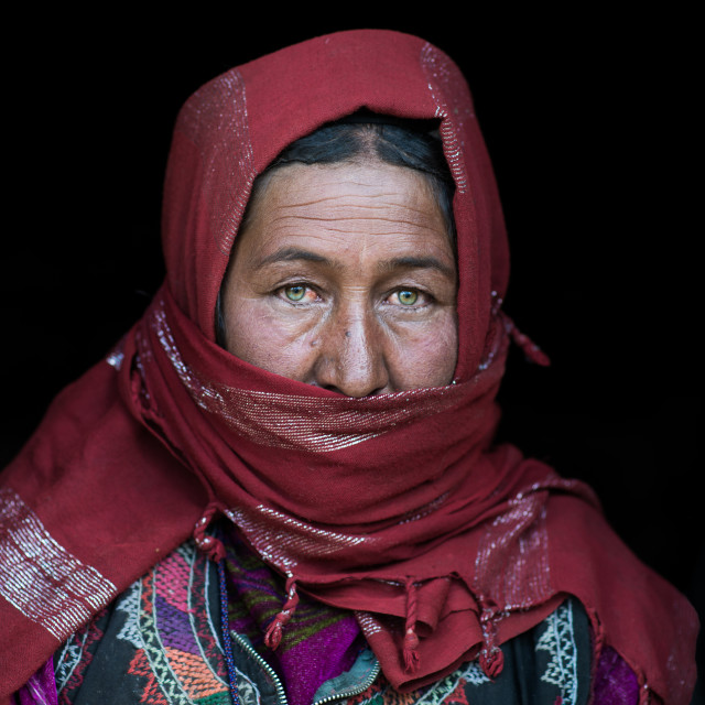 """Wakhi woman"" stock image"