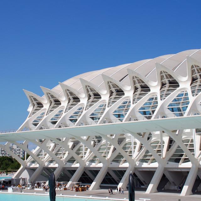 """Science Museum, Valencia"" stock image"