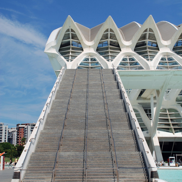 """""""The Science Museum, Valencia"""" stock image"""