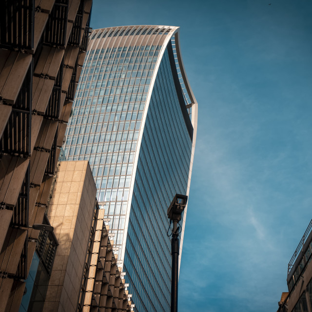 """The Walkie-Talkie Building, London, Britain"" stock image"