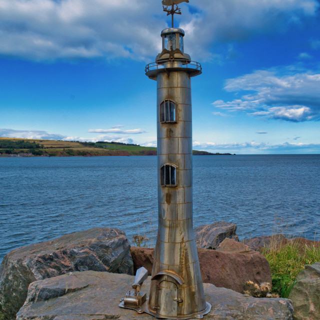 """Lighthouse sculpture"" stock image"