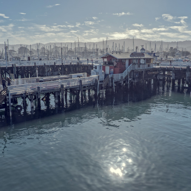 """""""Monterey Bay"""" stock image"""