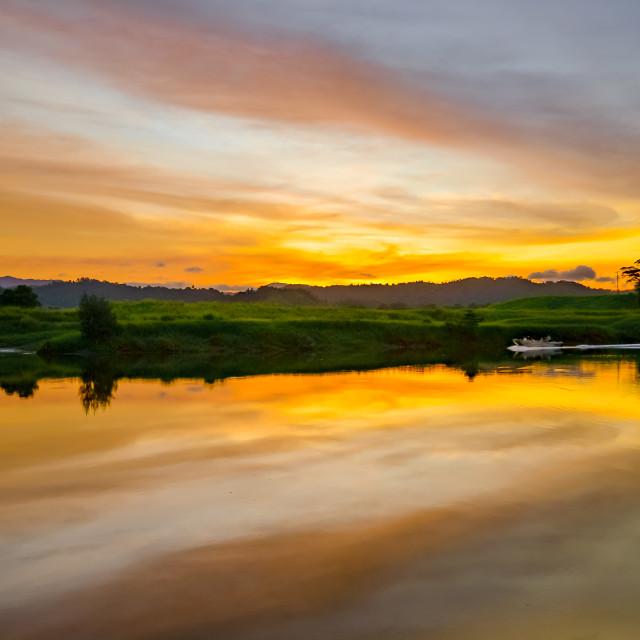 """Sunset Dreams"" stock image"