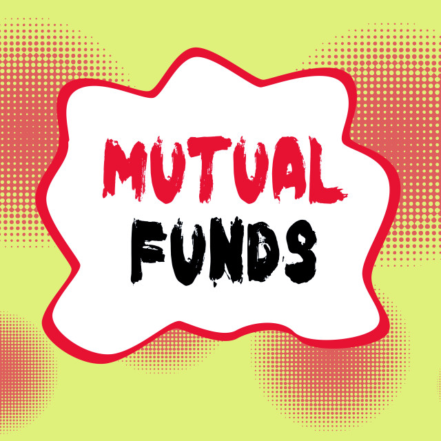 """Text sign showing Mutual Funds. Conceptual photo An investment program funded..."" stock image"