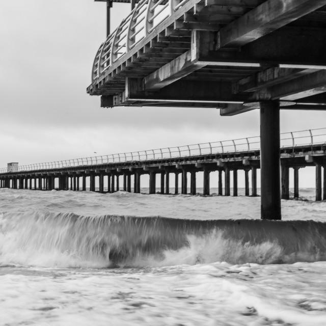 """""""Felixstowe Pier, Suffolk"""" stock image"""