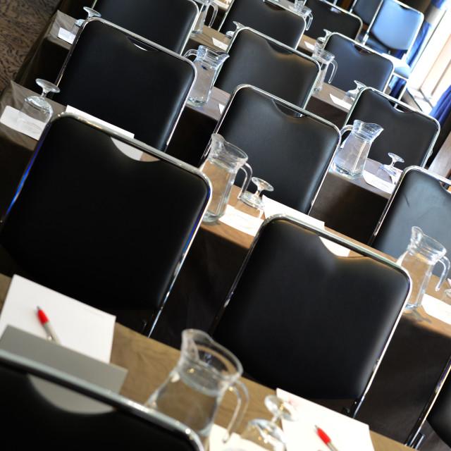 """""""seminar seating"""" stock image"""