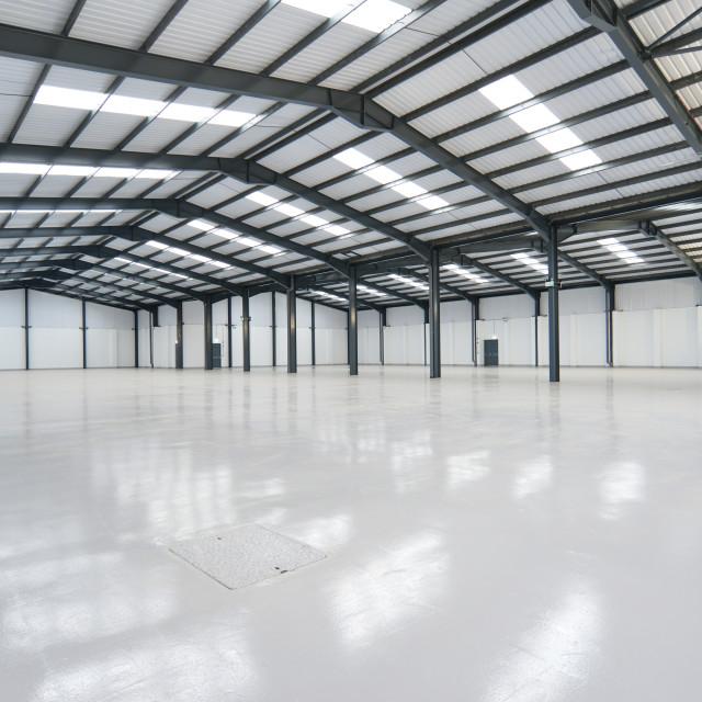 """empty warehouse"" stock image"