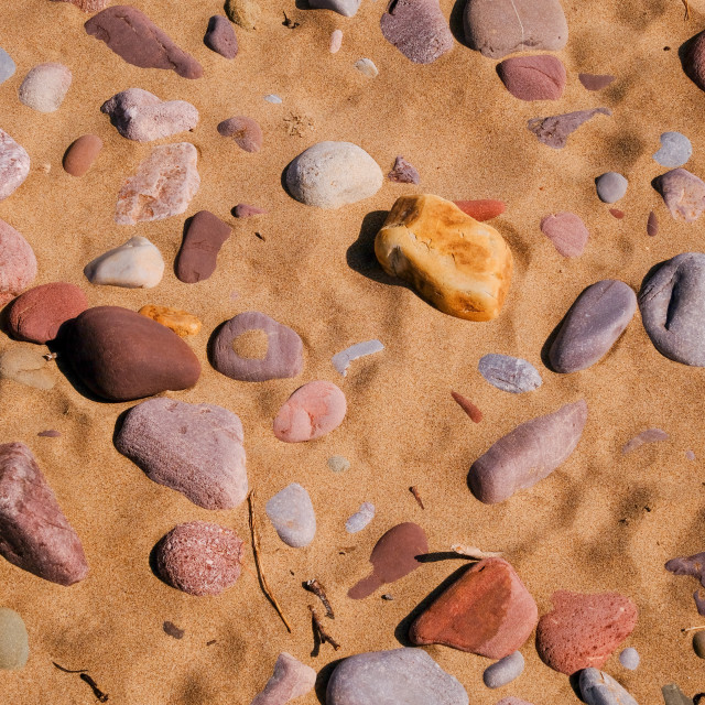"""""""sand and pebbles"""" stock image"""