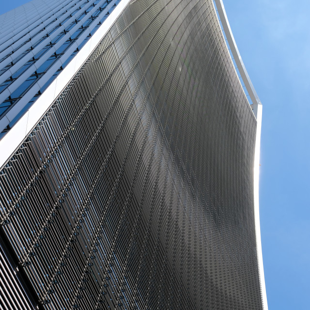 """""""Exterior of the Walkie Talkie building in the city of London"""" stock image"""
