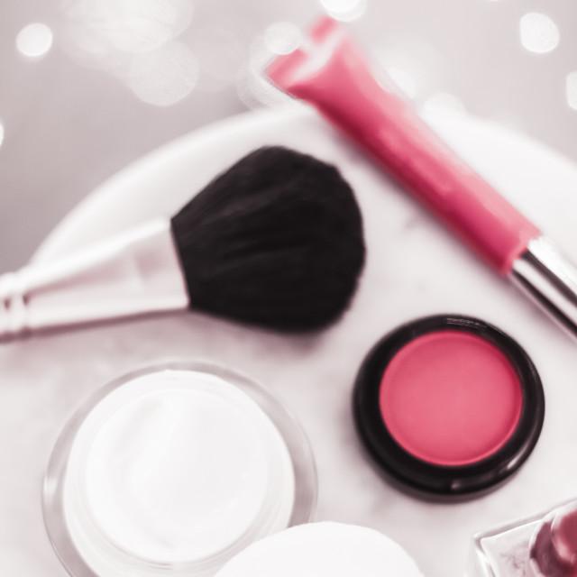 """Anti-age beauty face moisturizer cream for sensitive skin, luxury spa..."" stock image"
